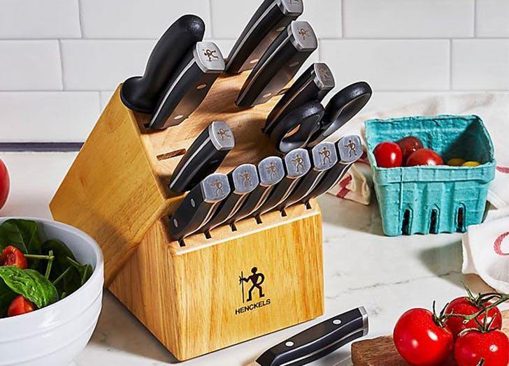 best knife sets henckels 1895 15 piece knife set