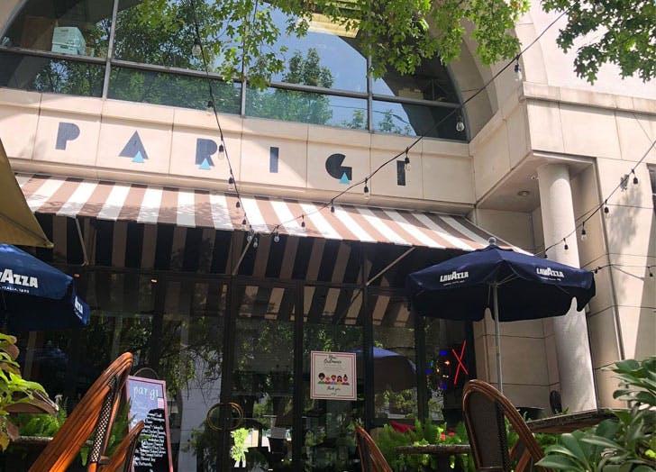 best patio restaurants dallas parigi