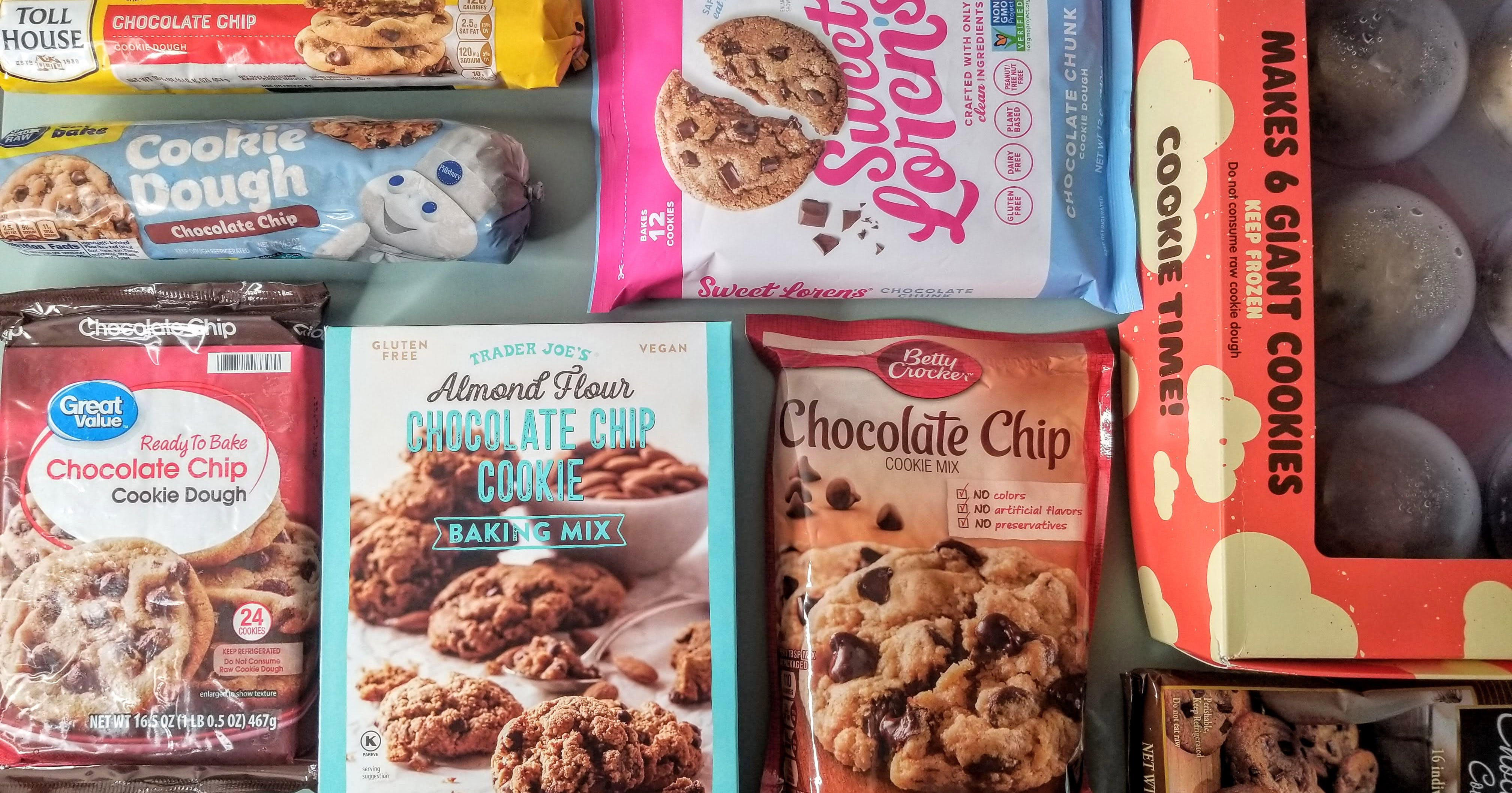 What's the Best Store-Bought Chocolate Chip Cookie Dough? We Tested 9 to Find One for Every Palate
