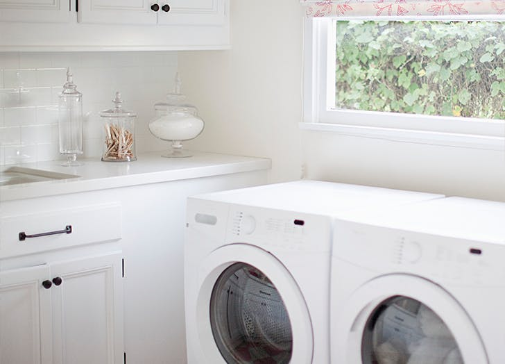 brighten up the room easy laundry room updates