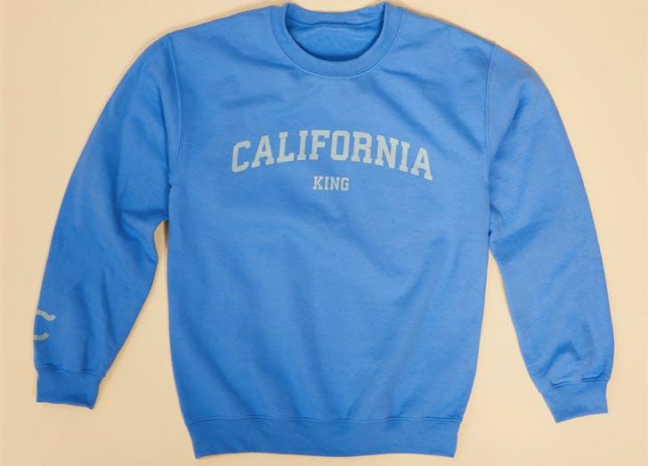 california king sweatshirt