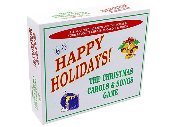 christmas party games song game