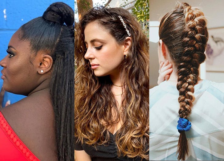 25 Easy Hairstyles For Long Hair Purewow