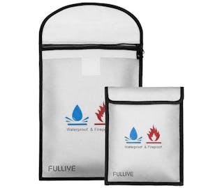 emergency essentials document bag