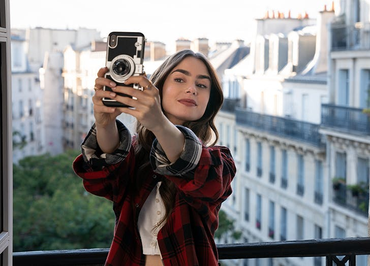 Emily In Paris Phone Case For iPhone 12 11 case iPhone 11 Pro case iPhone 11 Pro Max case iPhone X case iPhone XS iPhone XS Max 8