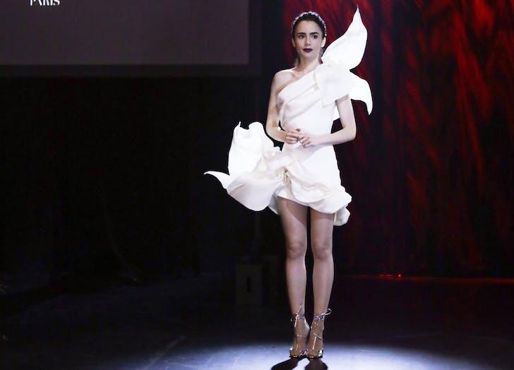 emily in paris white dress