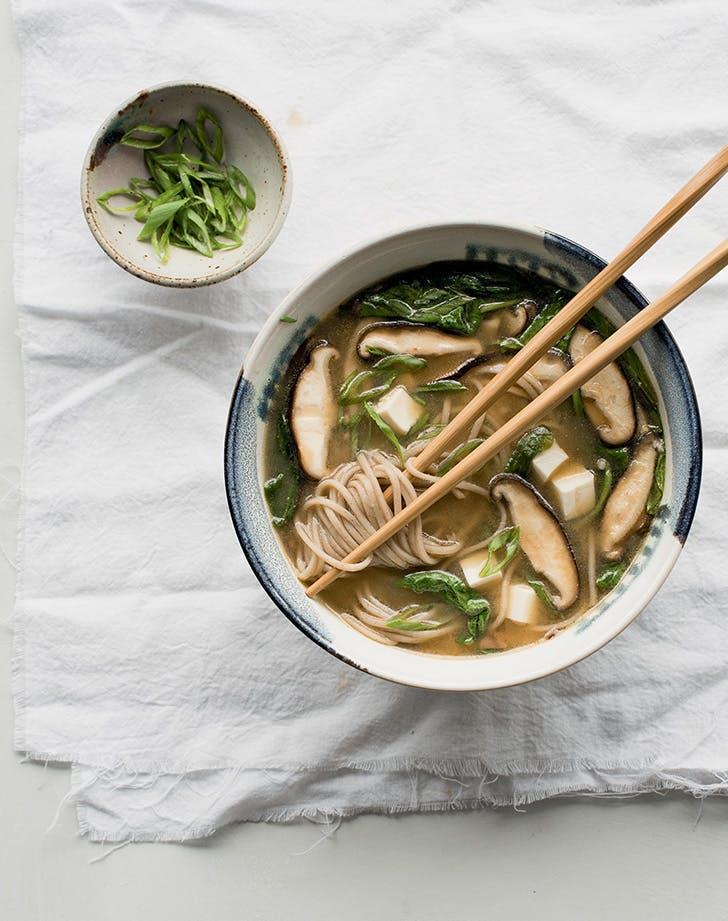fall soup recipes restorative miso noodle soup recipe