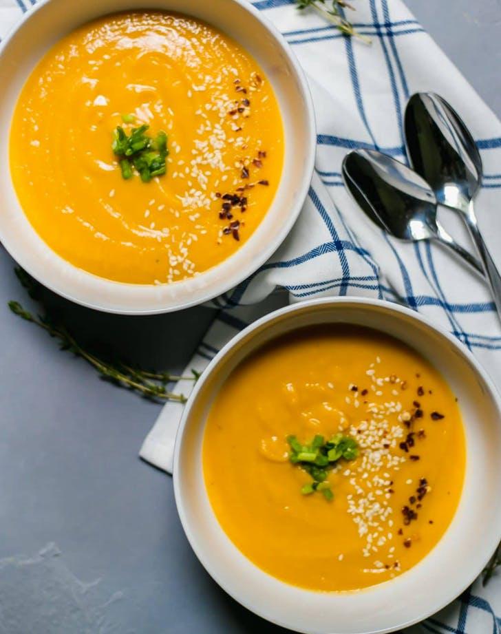 fall soup recipes sweet potato miso soup recipe