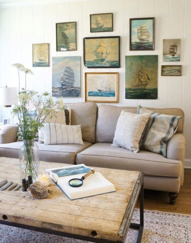 family room decorating ideas rustic table