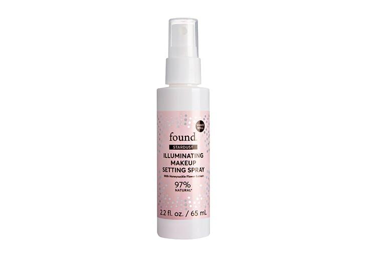 found illuminating makeup setting spray