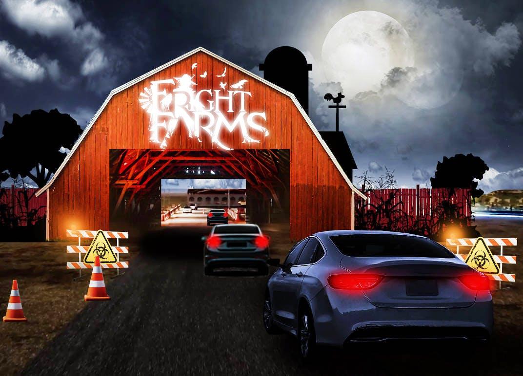 halloween in los angeles fright farm