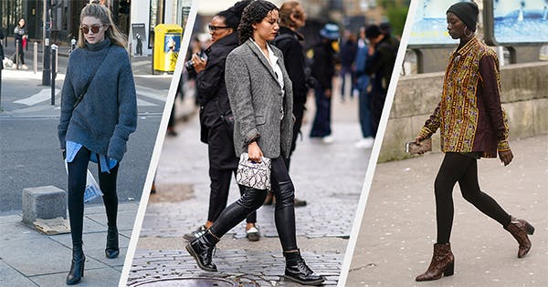 How to Wear Ankle Boots with Leggings (Plus, the 2 Pairings You Should Skip)