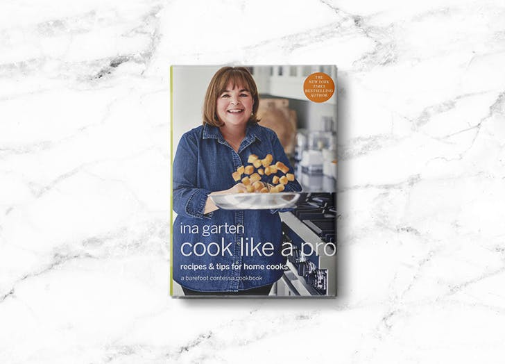 Inas Garten's Popular Cookbook, <em>Cook Like a Pro</em>, Is 58 Percent Off—But Only for the Next 4 Hours