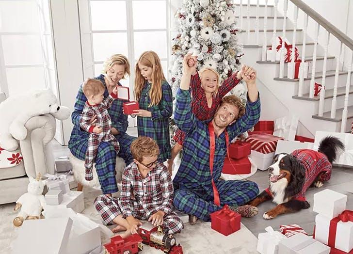 matching family christmas pajamas 1