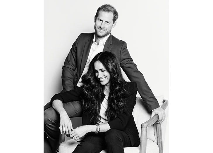 Meghan Markle & Prince Harry Release Stunning Black-and-White Photo & Announce Huge New Virtual Event