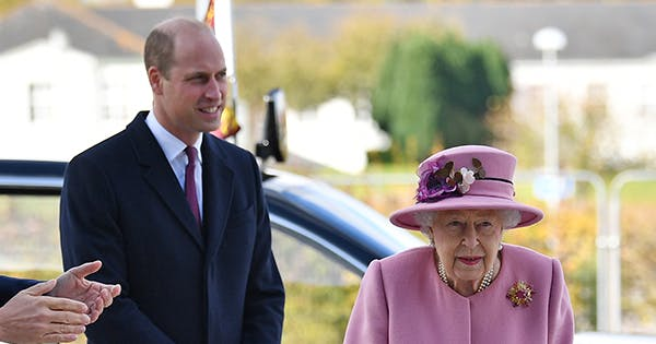 Queen Elizabeth Surprised Royal Fans with Her First Public Appearance in 7 Months (& Prince William Tagged Along)