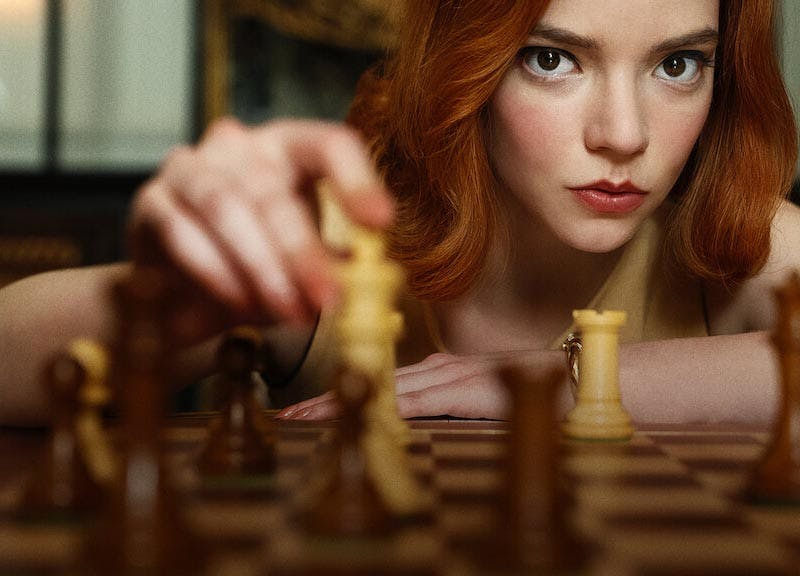 queen s gambit review checkmate