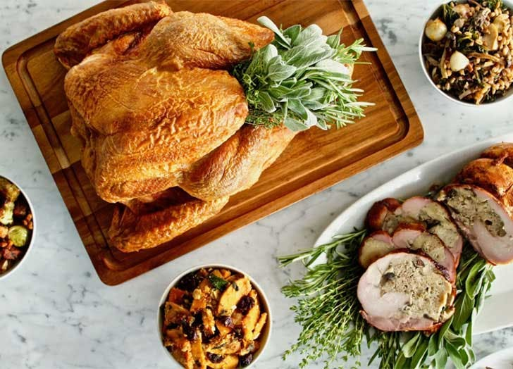 Prepared Thanksgiving dinner NYC Bklyn Larder  1