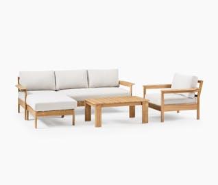 backyard staging module 3 furniture