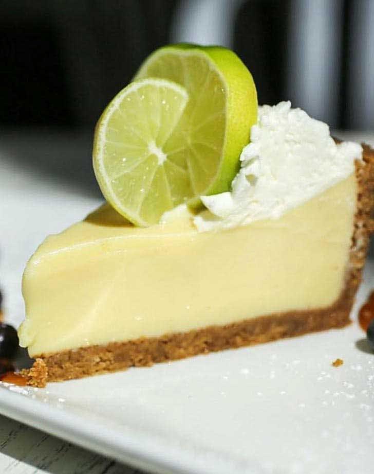 best key lime pie in Miami icebox cafe