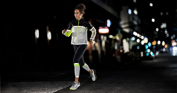 Love Jogging at Night? Here's the Best Reflective Running Gear (Including a Few Necessary Accessories)