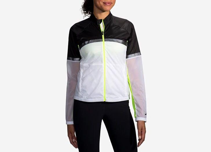 best reflective running gear brooks jacket