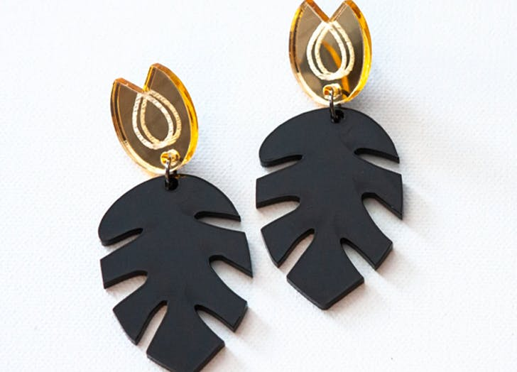 black owned fashion and beauty gifts Rachel Stewart Jewelry Najee Earrings