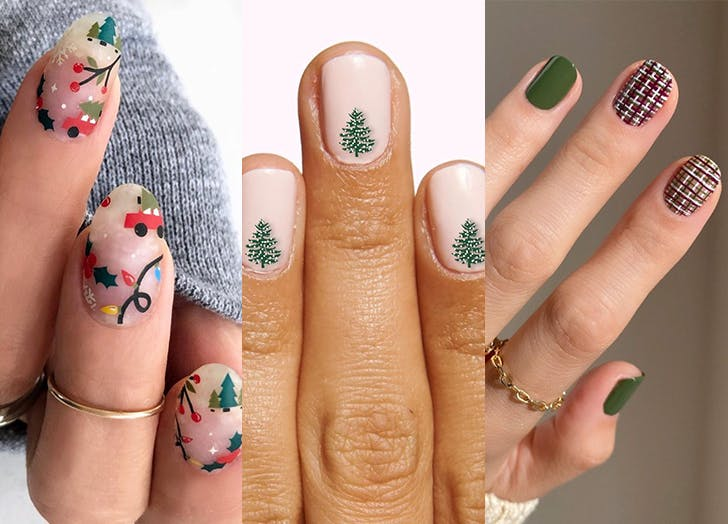 12+ Christmas Nails 2020 Simple