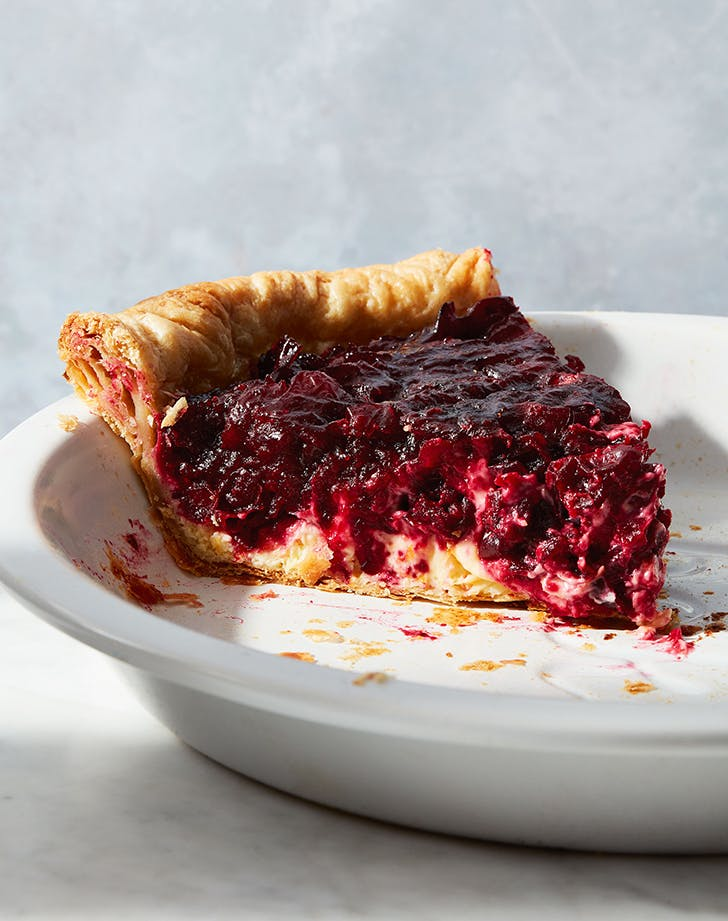 Cranberry-Orange Pie