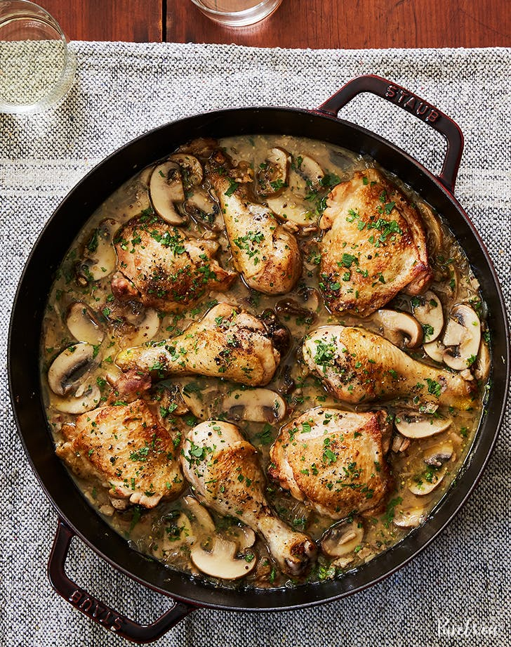 White Wine Coq Au Vin Recipe Purewow