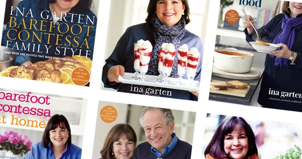 "A Definitive Ranking of Ina Garten's Cookbooks, from ""Store-Bought Is Fine"" to ""How Easy Is That?"""
