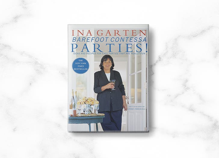 ina garten cookbooks barefoot contessa parties
