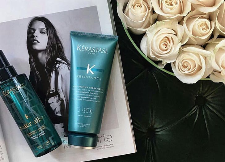 keratin treatment at home category
