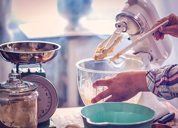 kitchenaid mixing by hand