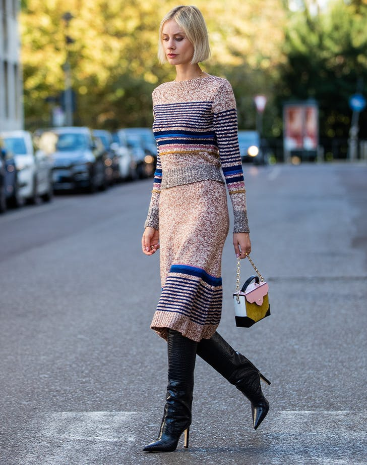 How to Wear Knee-High Boot Outfits - PureWow