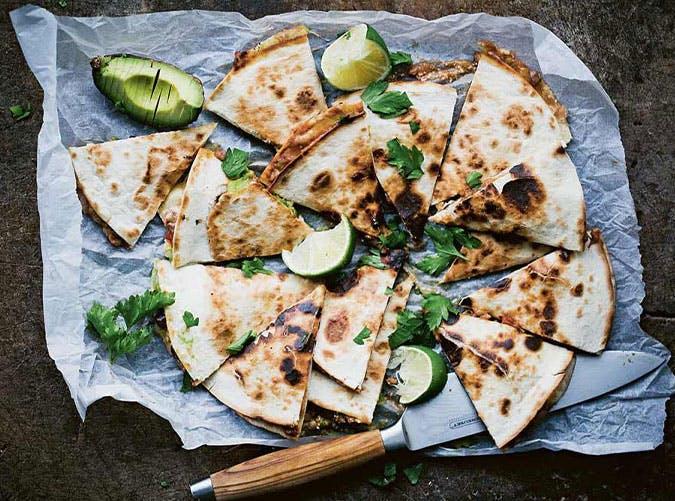 lazy sunday dinner ideas avocado quesadillas