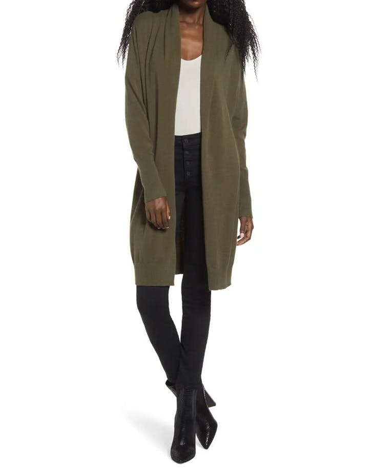 leith nordstrom long cardigan