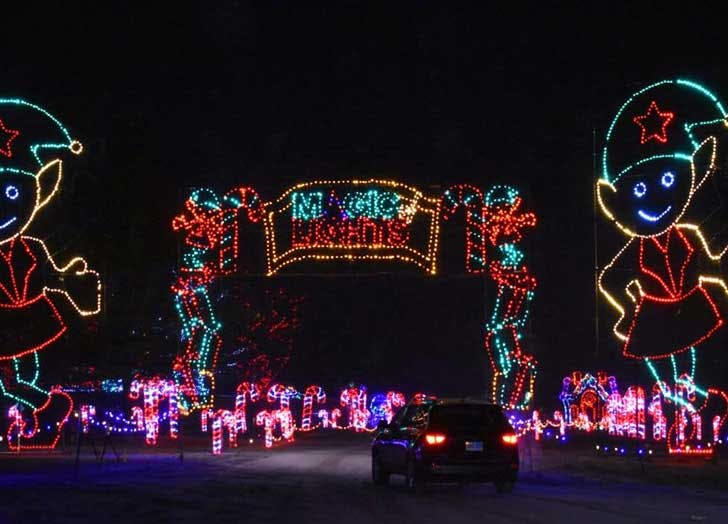 magic of lights drive thru christmas lights ny nj