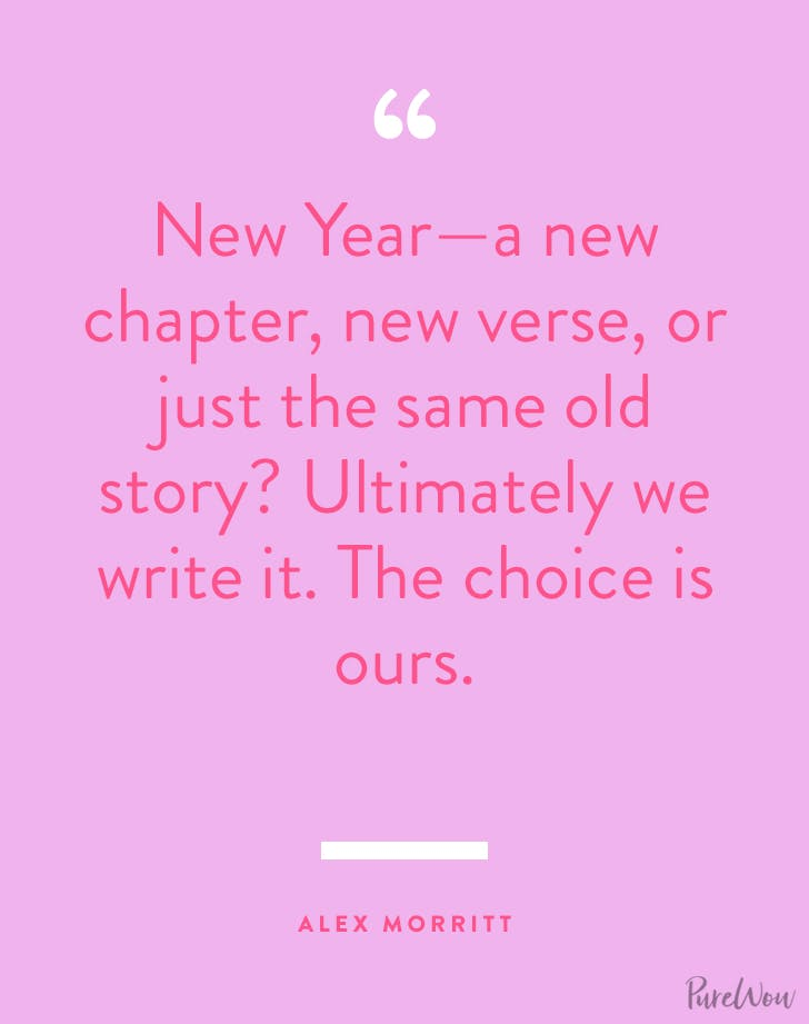 new years quotes alex morritt