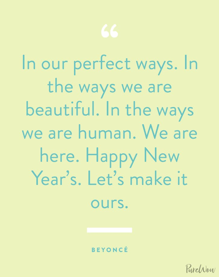 new years quotes beyonce