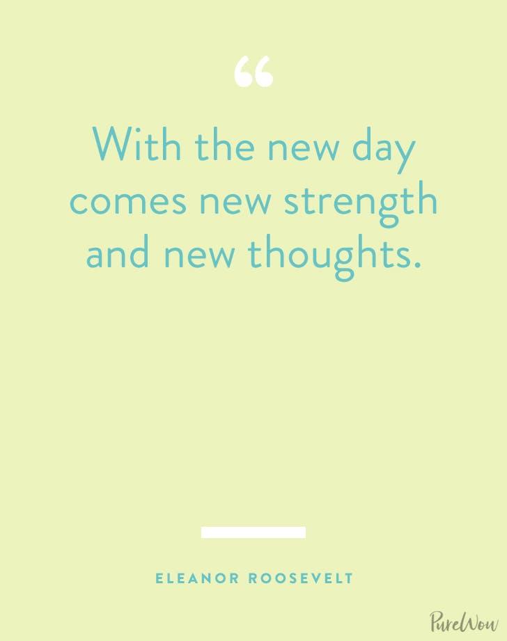 new years quotes eleanor roosevelt