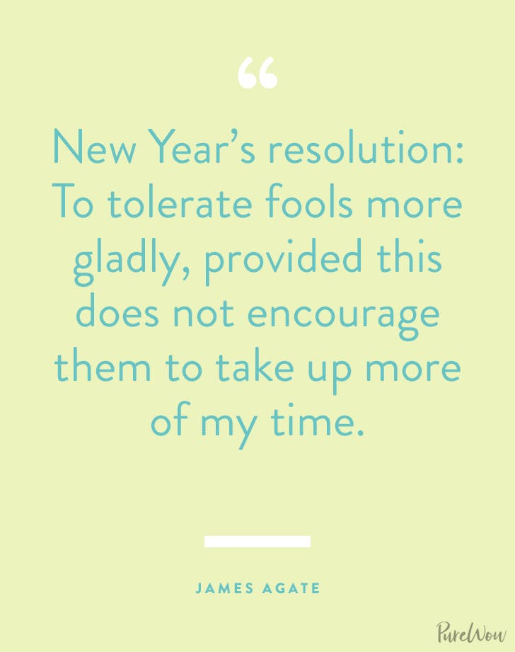 new years quotes james agate