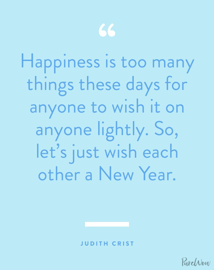 new years quotes judith crist