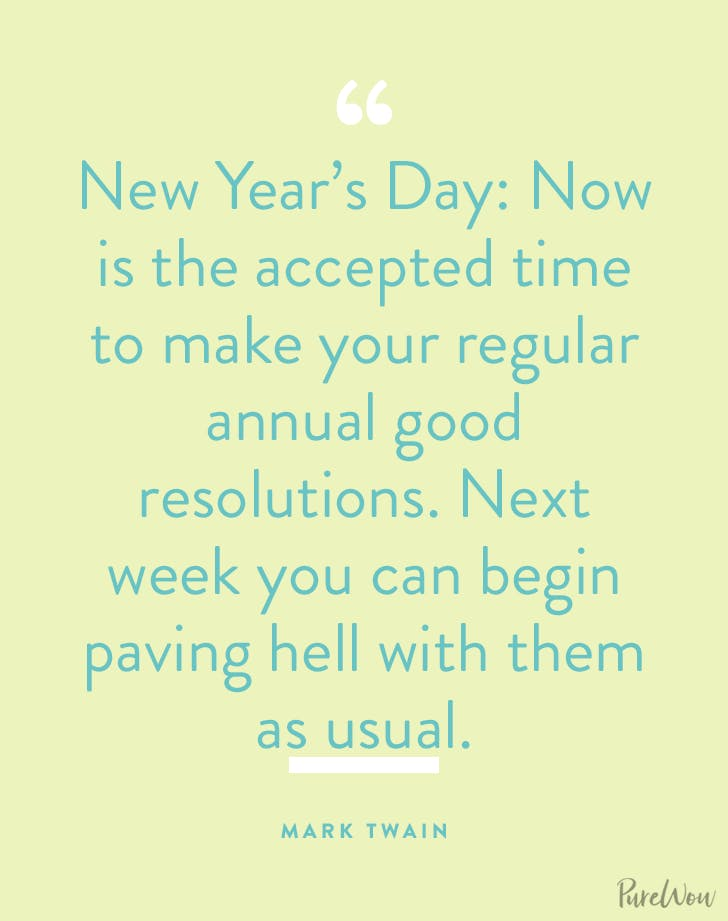 new years quotes mark twain