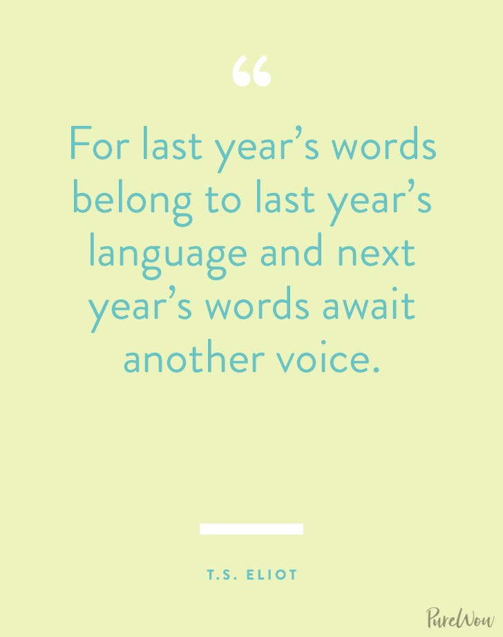 new years quotes ts eliot
