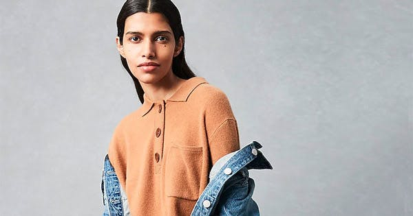 Here's Why the Polo Collar Sweater Is Taking Off Right Now
