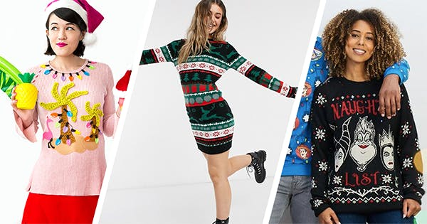 22 Ugly Christmas Sweater Ideas to Try This Holiday Season (Plus Some DIY Versions, If You're Feeling Crafty)