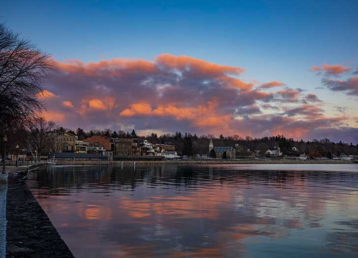 SKANEATELES small towns in new york