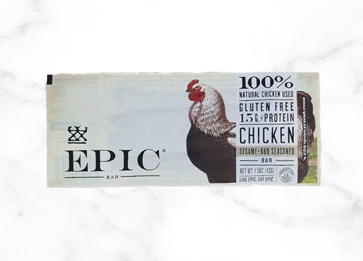 best keto bars epic chicken bbq bar