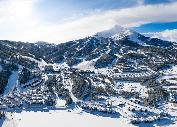 big sky montana covid ski trip